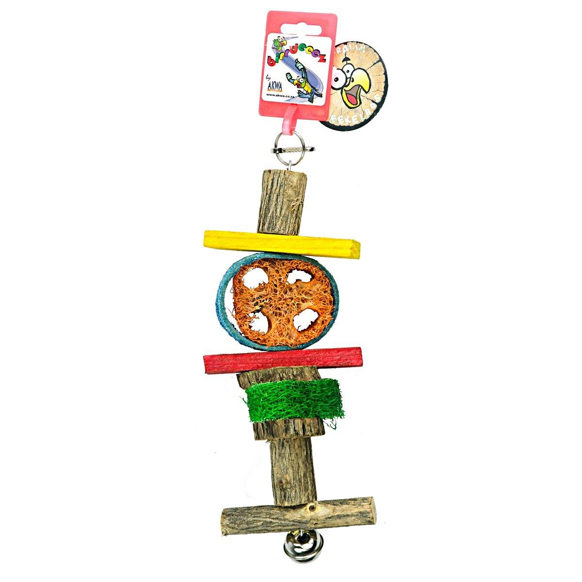 Afbeelding van Birrdeeez Parrot Loofah Toy