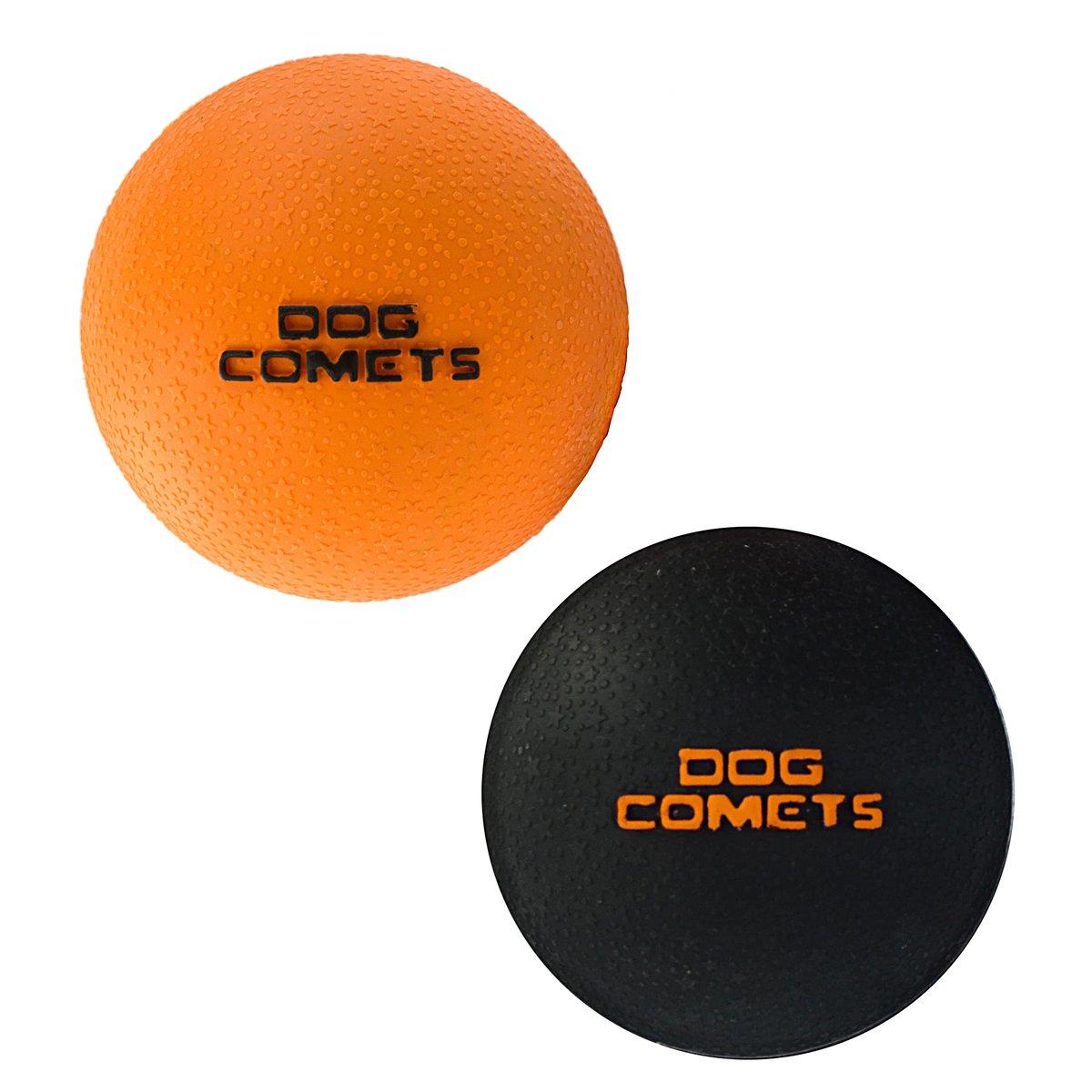 Afbeelding van Dog Comets Ball Stardust oranje 6cm