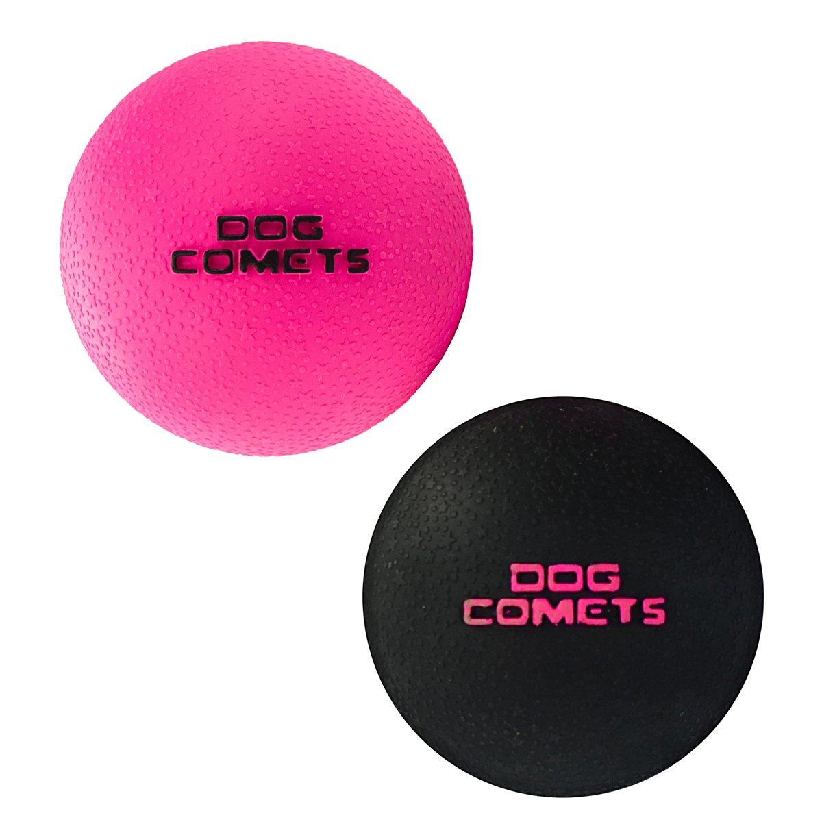 Afbeelding van Dog Comets Ball Stardust roze 6cm
