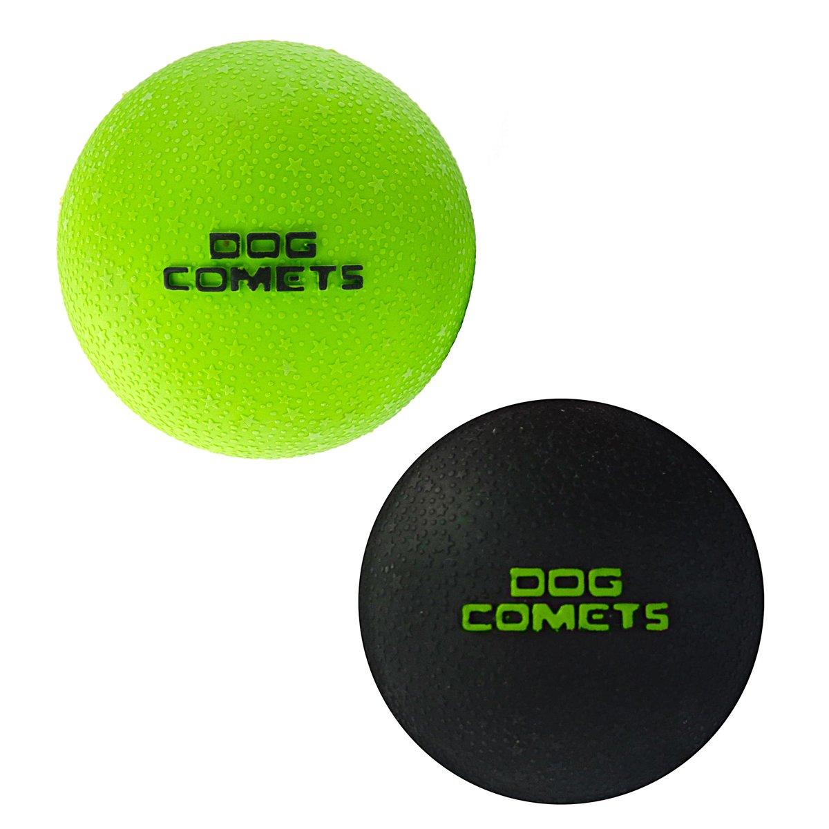 Afbeelding van Dog Comets Ball Stardust groen 6cm