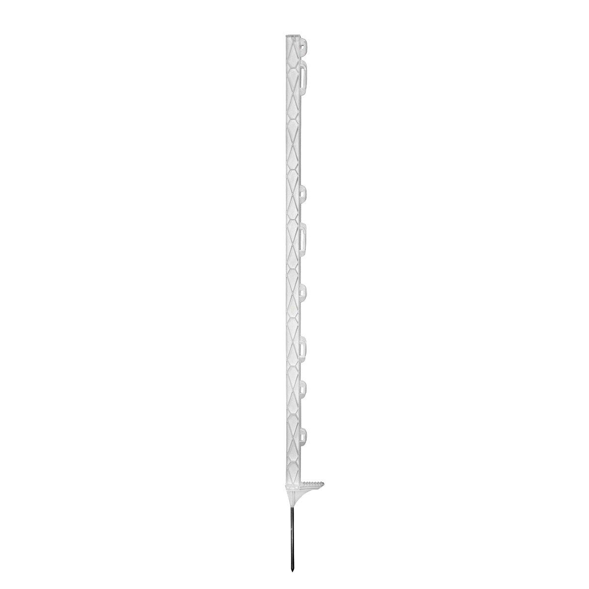 Abbildung von Ako Titan Plus Kunstst.pfahl m. Trittverstärkung Weiß 157cm