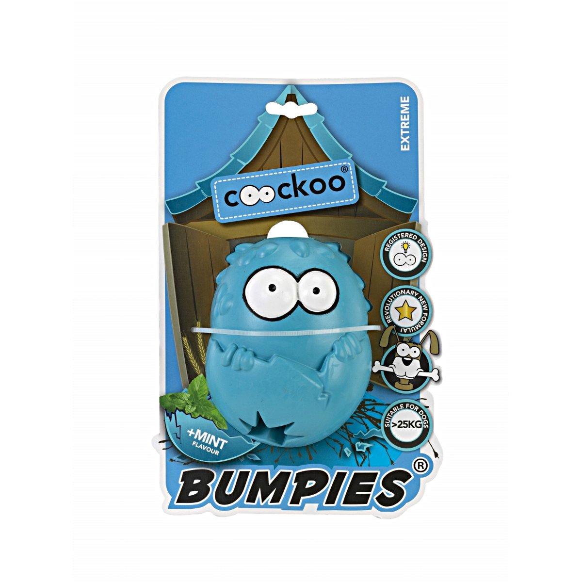 Afbeelding van Coockoo Bumpies Caribbean Blue Blauw 11x8,7x7,5cm