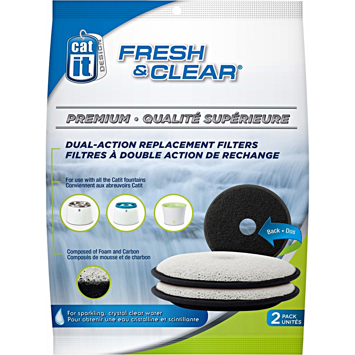 Afbeelding van Cat It Filter Fresh & Clear Premium # 50023 2st