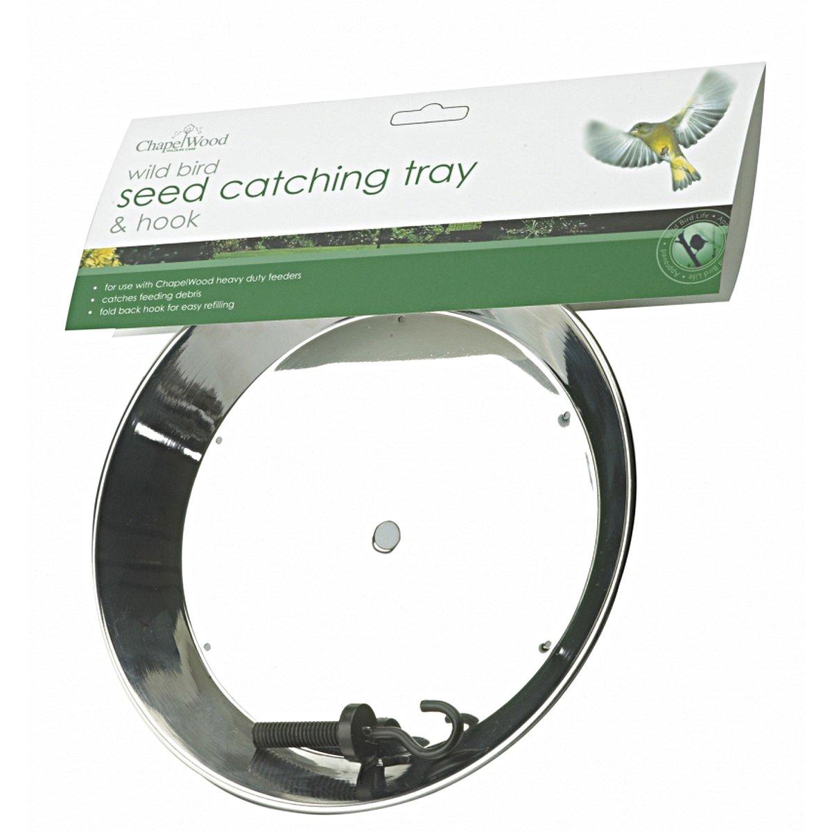Afbeelding van Chapelwood Seed Catching Tray & Hook 20,7x20,7x3cm
