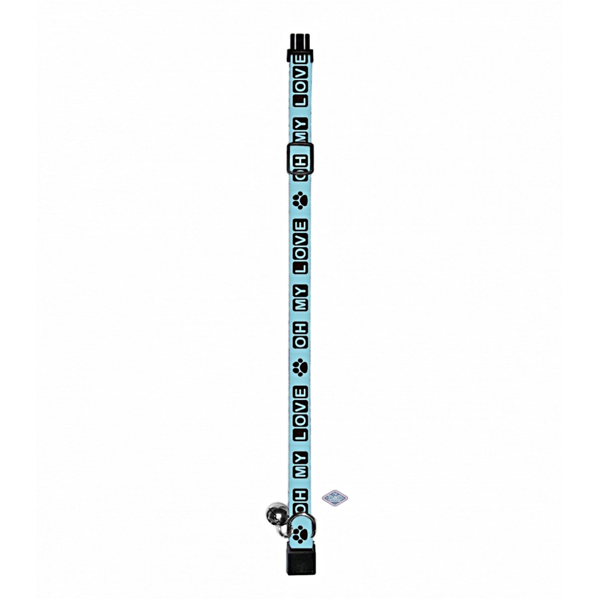 Afbeelding van D&d Cat walk/oh My Love/safety Click Baby blue 18 30cm