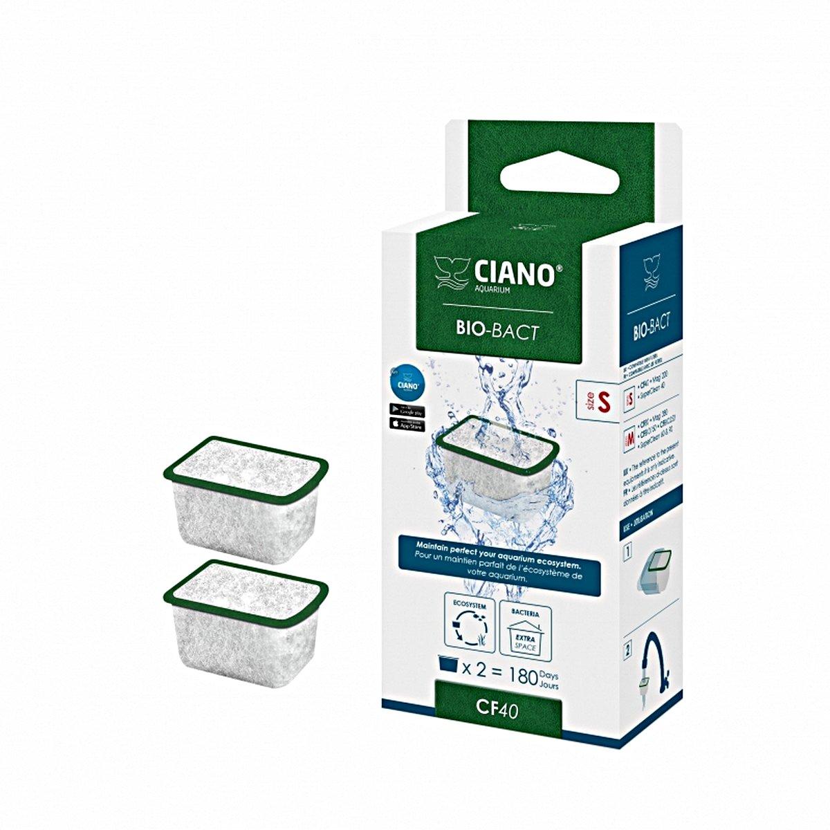 Afbeelding van Ciano Bio bact 2st Groen 3,8x3x2,3cm