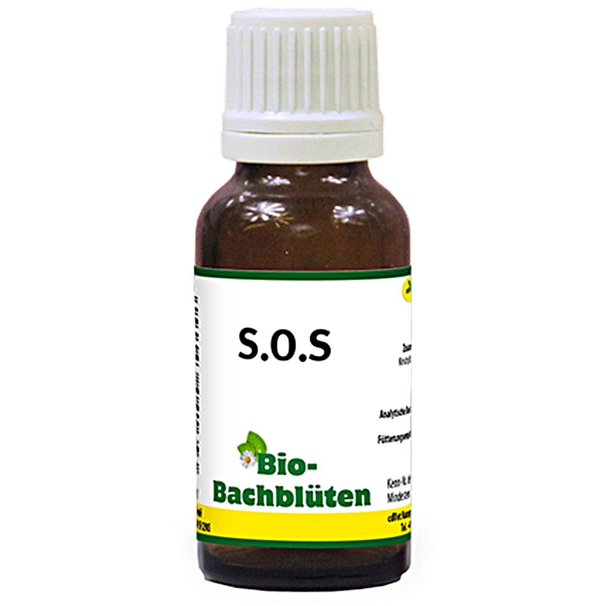 Afbeelding van cdVet Bio Bachbloesem S.O.S 20ml
