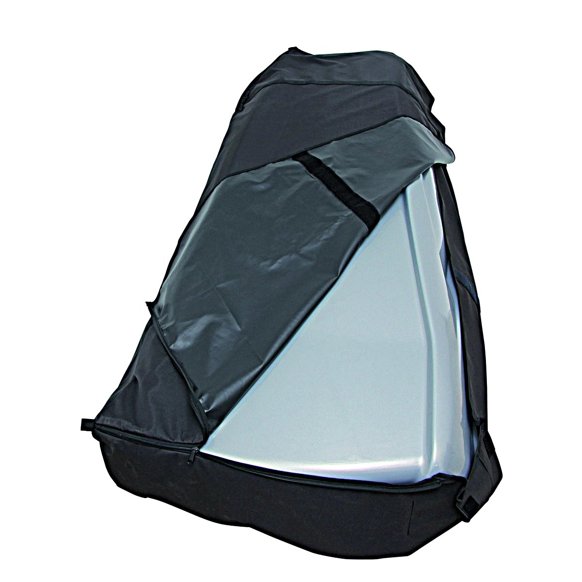 Afbeelding van Cover It Dakkoffer Beschermhoes Zwart L