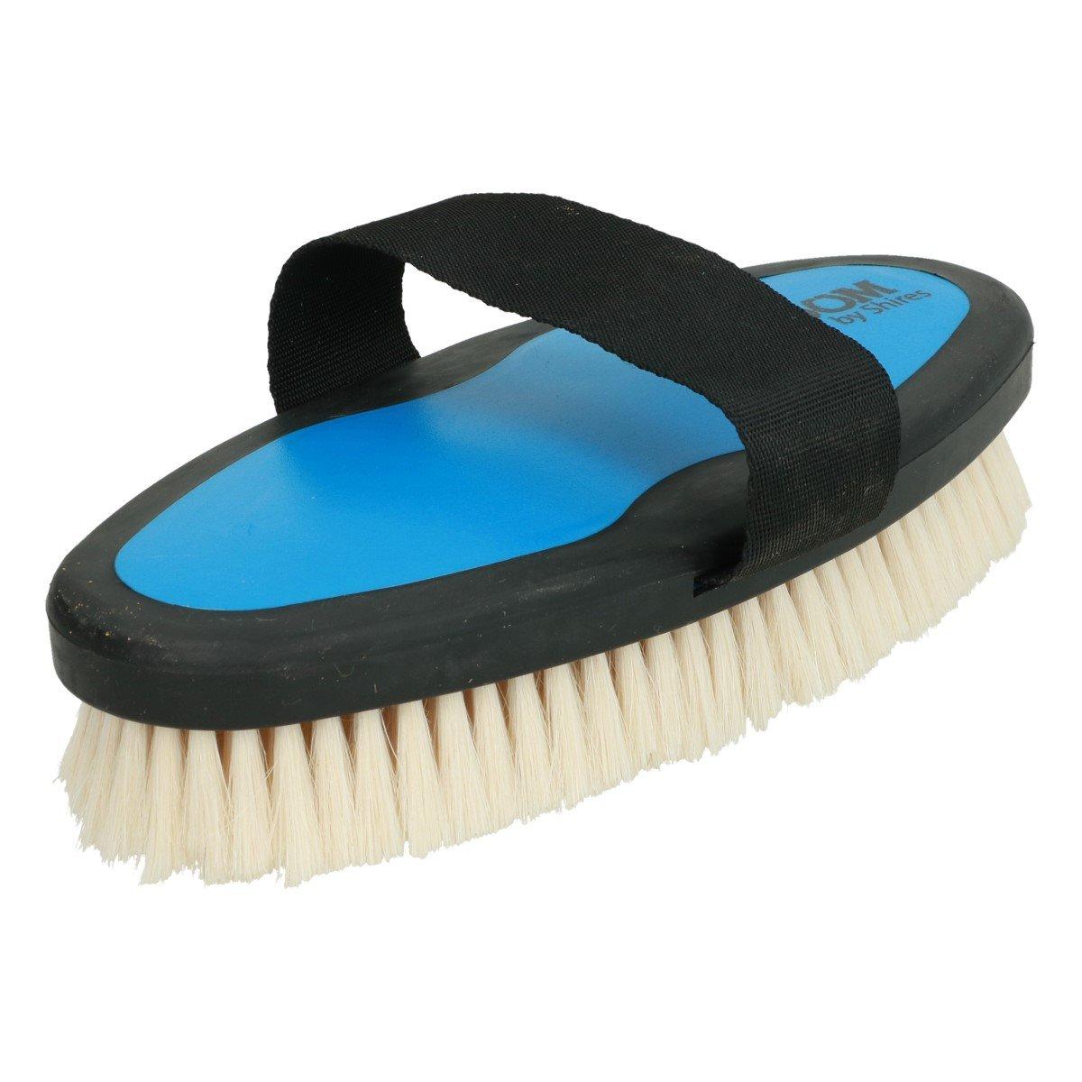 Imagem de Ezi Groom Body Brush with Goat Hair Bright Blue L