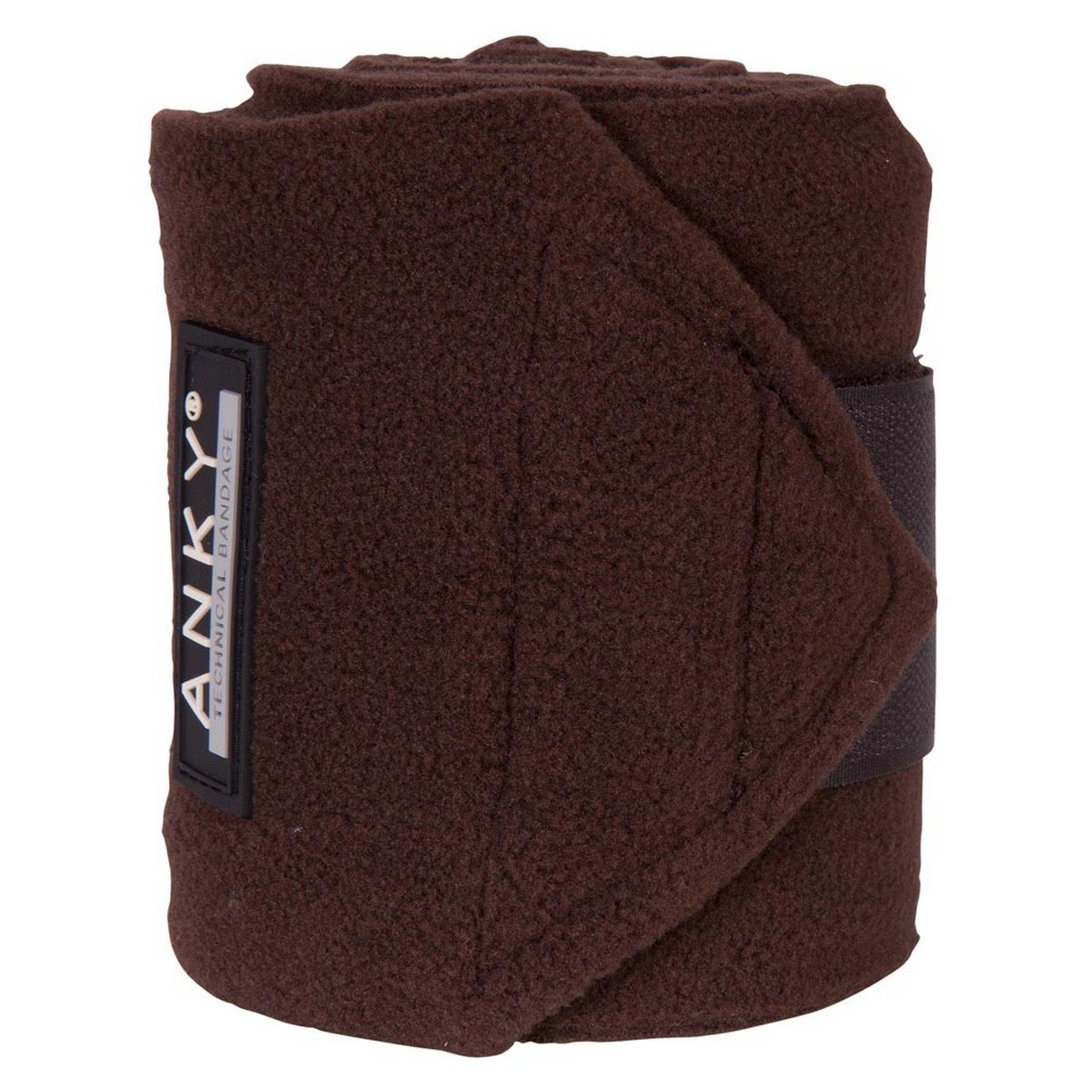 Afbeelding van Anky Bandages Basic Fleece Set van 4 Chocolate 3,5m