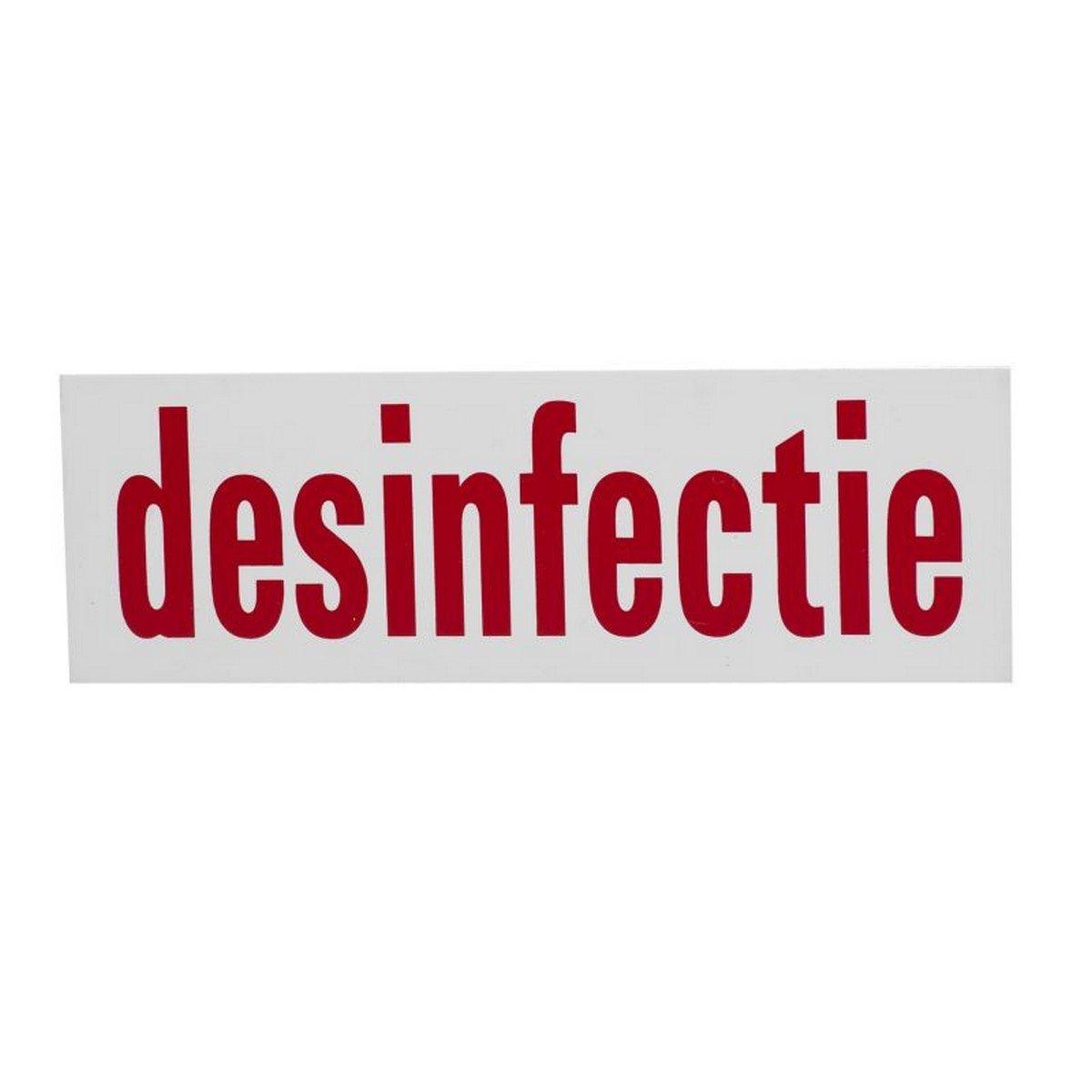Afbeelding van Agradi Bord PVC Desinfectie