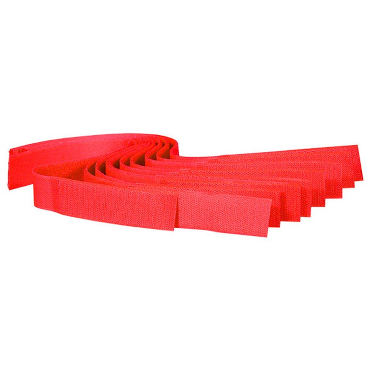 Afbeelding van a.s Koeherkenningsbandjes Velcro Rood