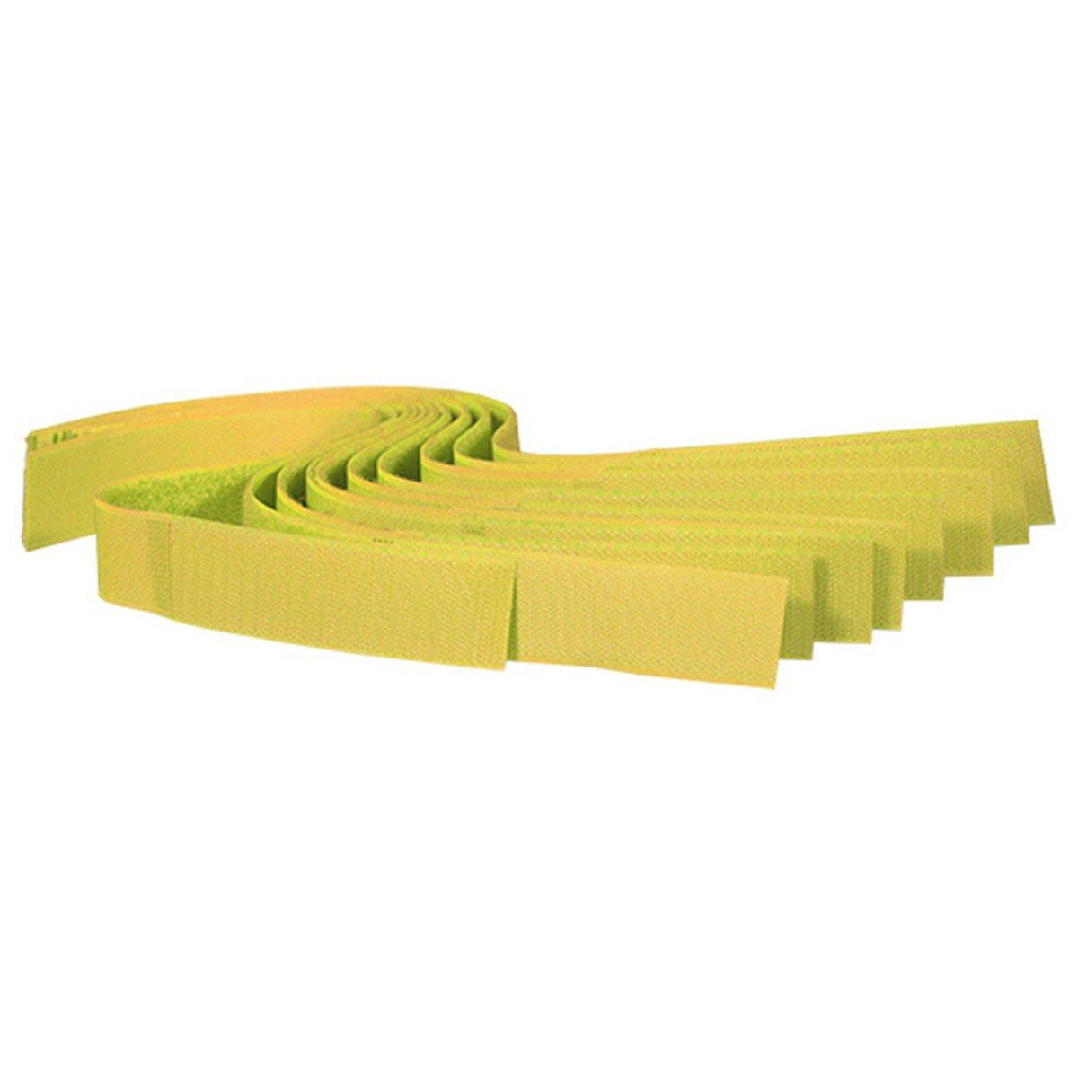 Afbeelding van a.s Koeherkenningsbandjes Velcro Geel