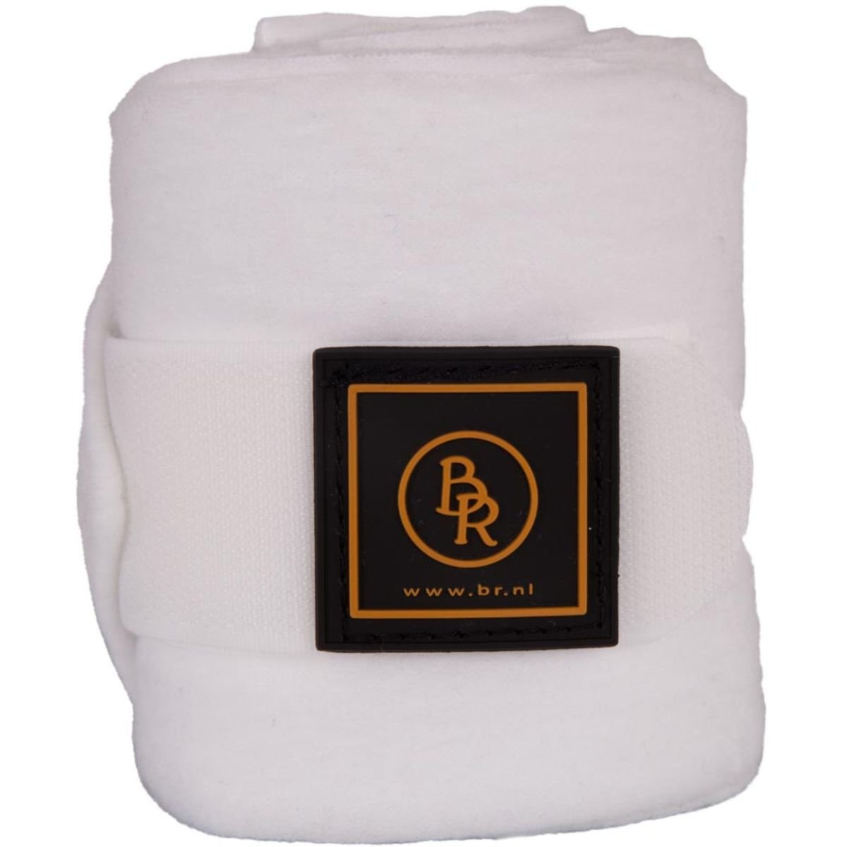 Afbeelding van Bandages/polo BR Event Fleece 2 mtr Wit Pony