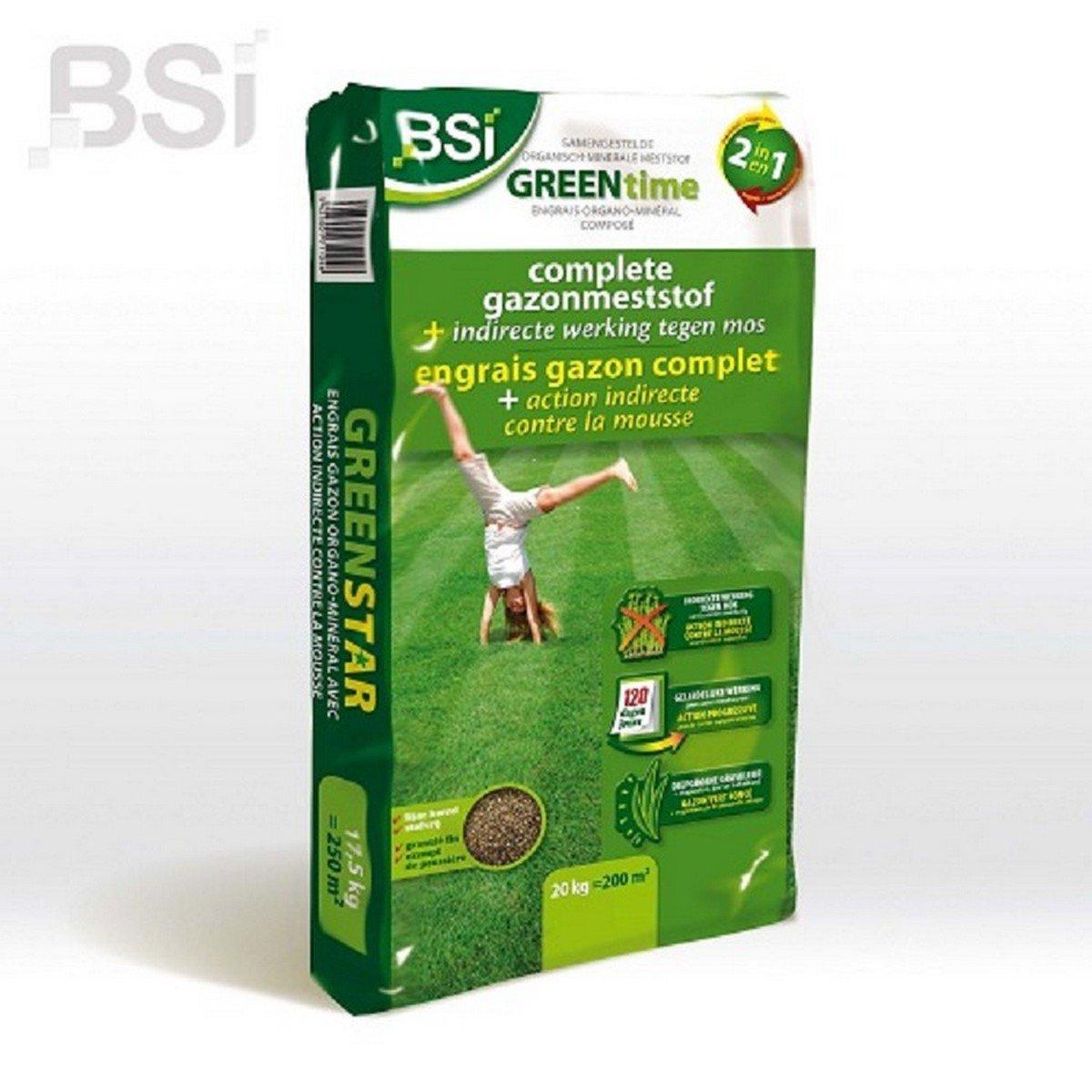 Afbeelding van BSI Anti mos Green Time 20 kg