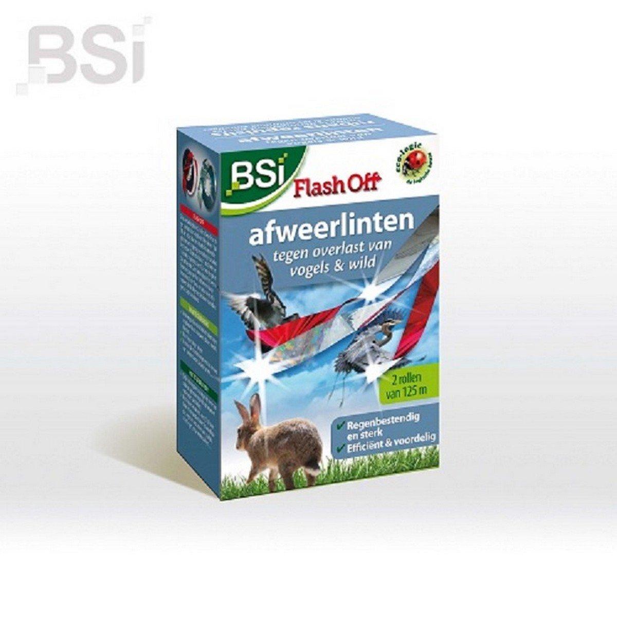 Afbeelding van BSI Afweerlinten Vogelafweer 2x 125 meter