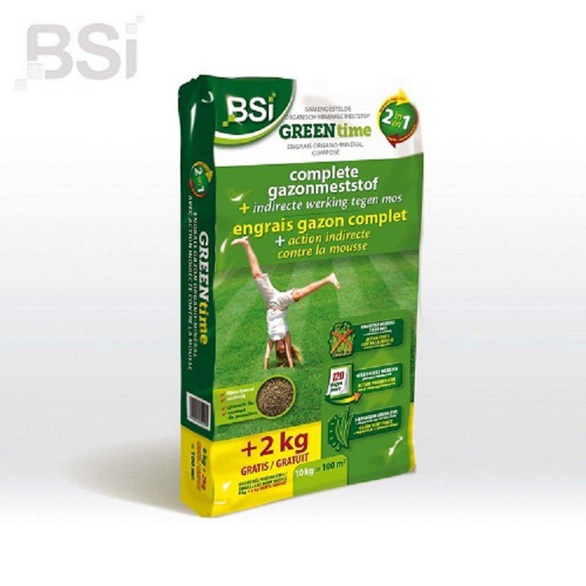 Afbeelding van BSI Anti mos Green Time 10 kg
