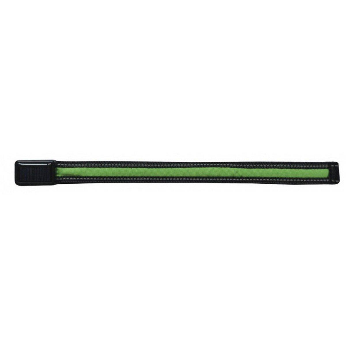 Afbeelding van Equizor Frontriem met LED verlichting Groen Full