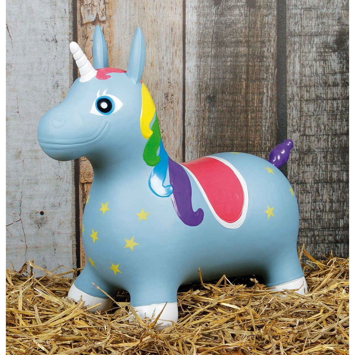 Image de Harrys Horse Licorne Bleu