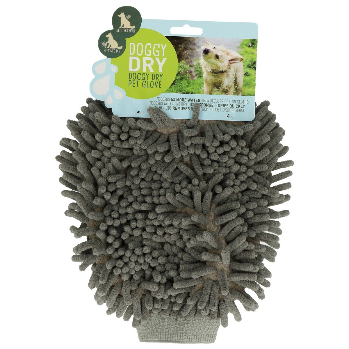 Afbeelding van Doggy Dry Pet Glove And Hair Remover 1 St