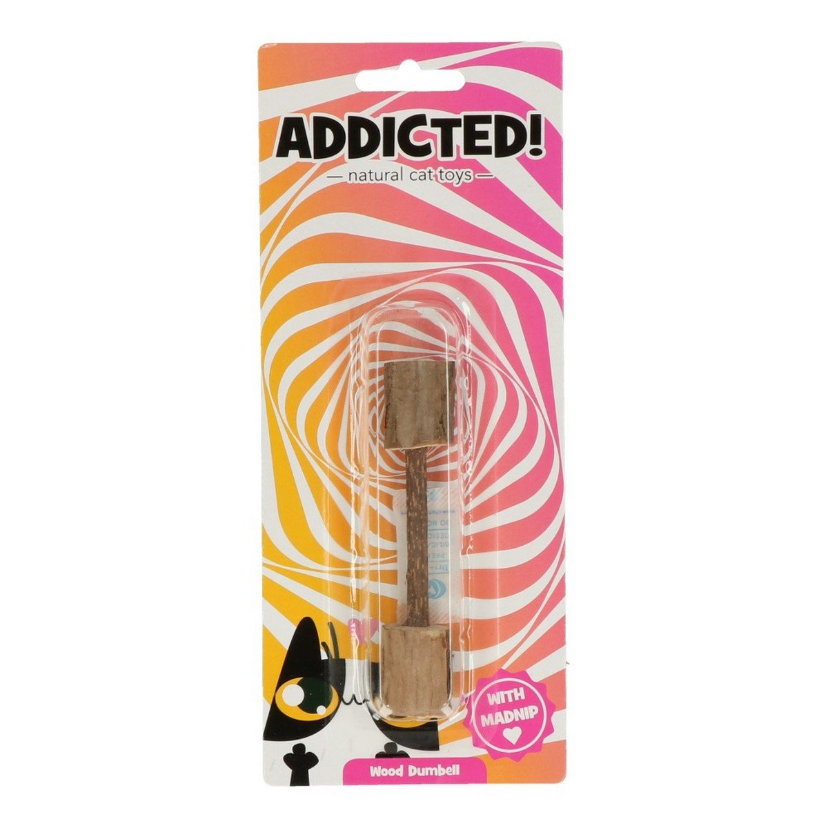 Afbeelding van Agradi Addicted Wood Dumbell 1 st