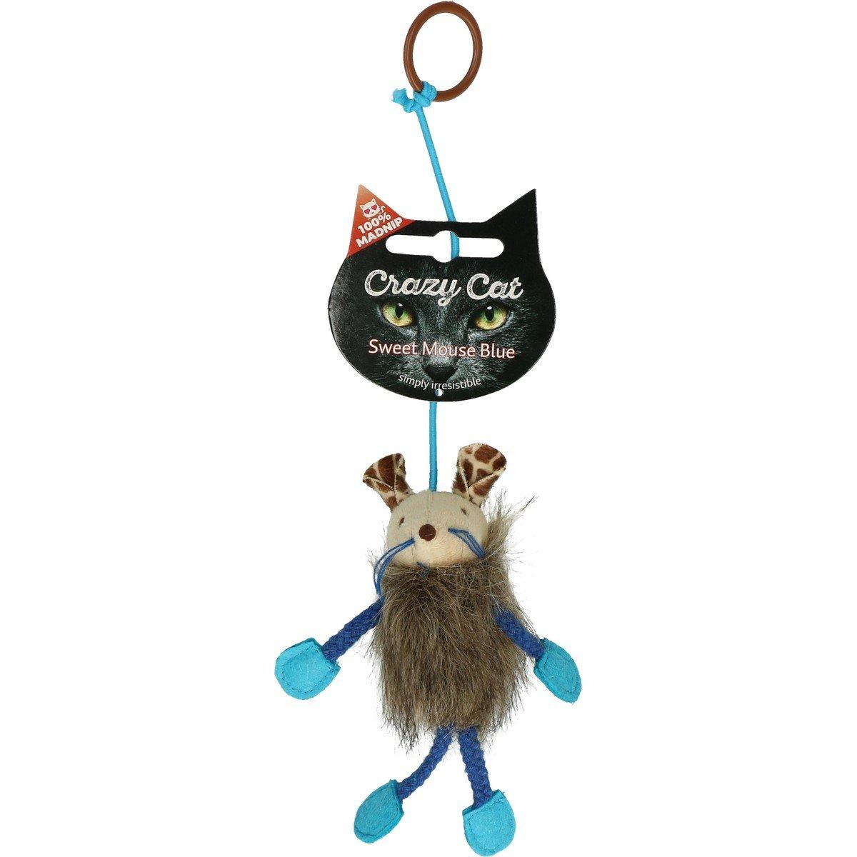Afbeelding van Crazy Cat Sweet Mouse Vol met Madnip Blauw