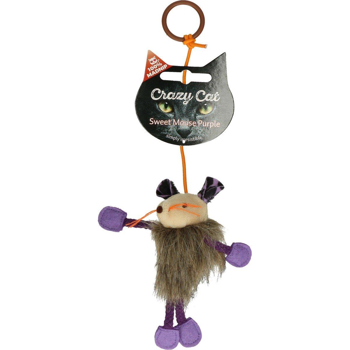 Afbeelding van Crazy Cat Sweet Mouse Vol met Madnip Paars