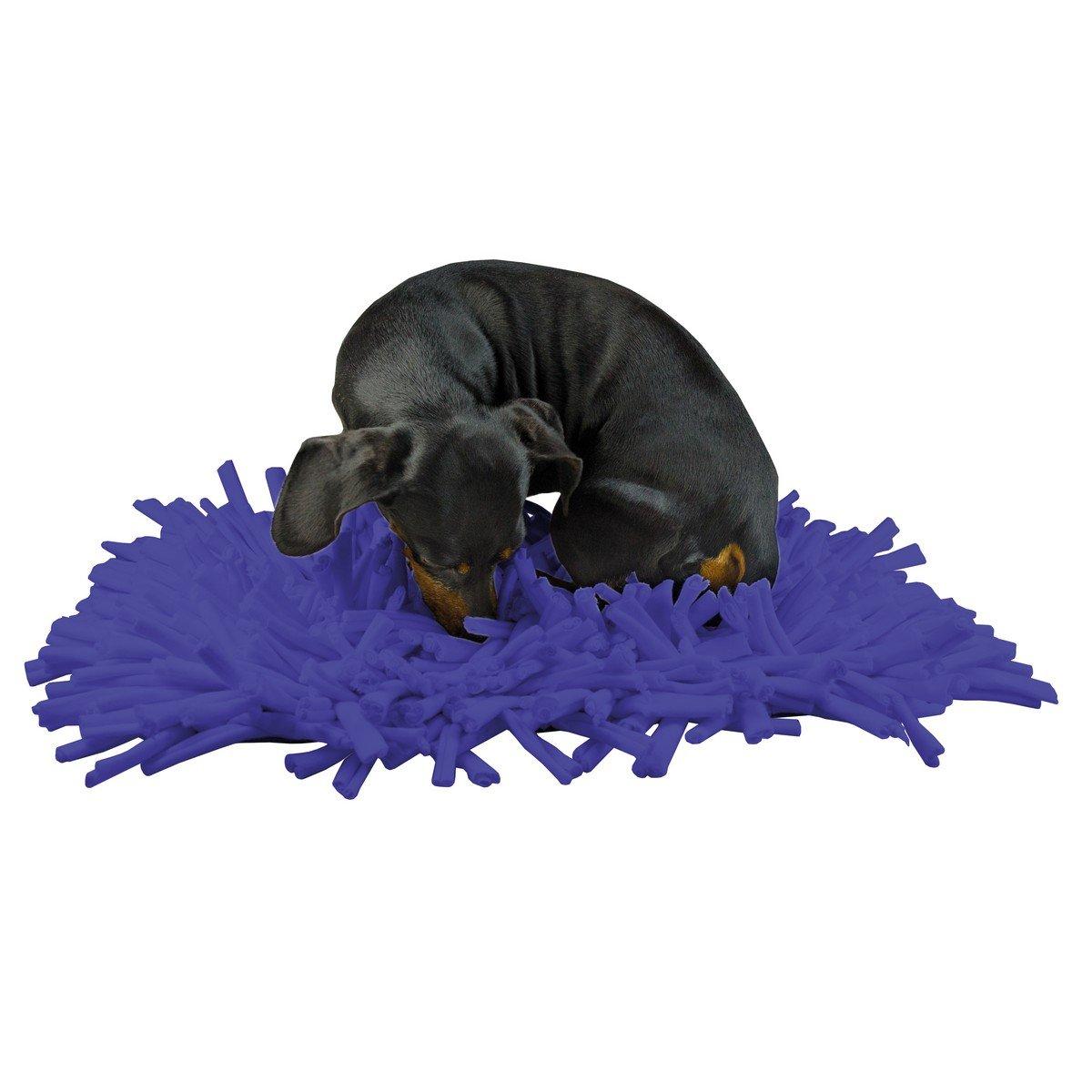 Afbeelding van Eat Slow Live Longer Play Mat Donker Blauw 44x28cm