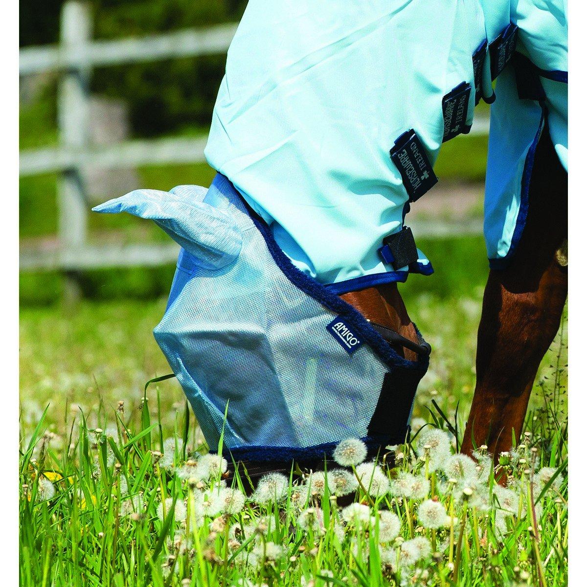 Imagem de Amigo by Horseware Flymask Baby blue Full