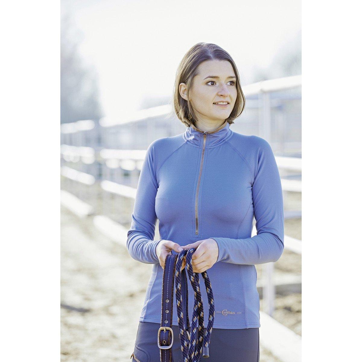 Afbeelding van Covalliero Active Shirt Bianca Dames Moonlight Blue L