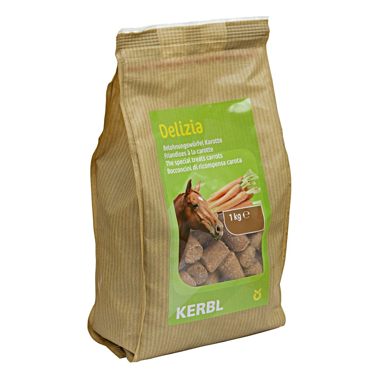 Imagem de Kerbl Delizia The Special Treats Carrot 1kg