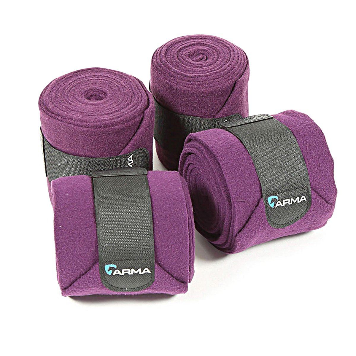 Afbeelding van Arma Bandages Fleece Plum One Size