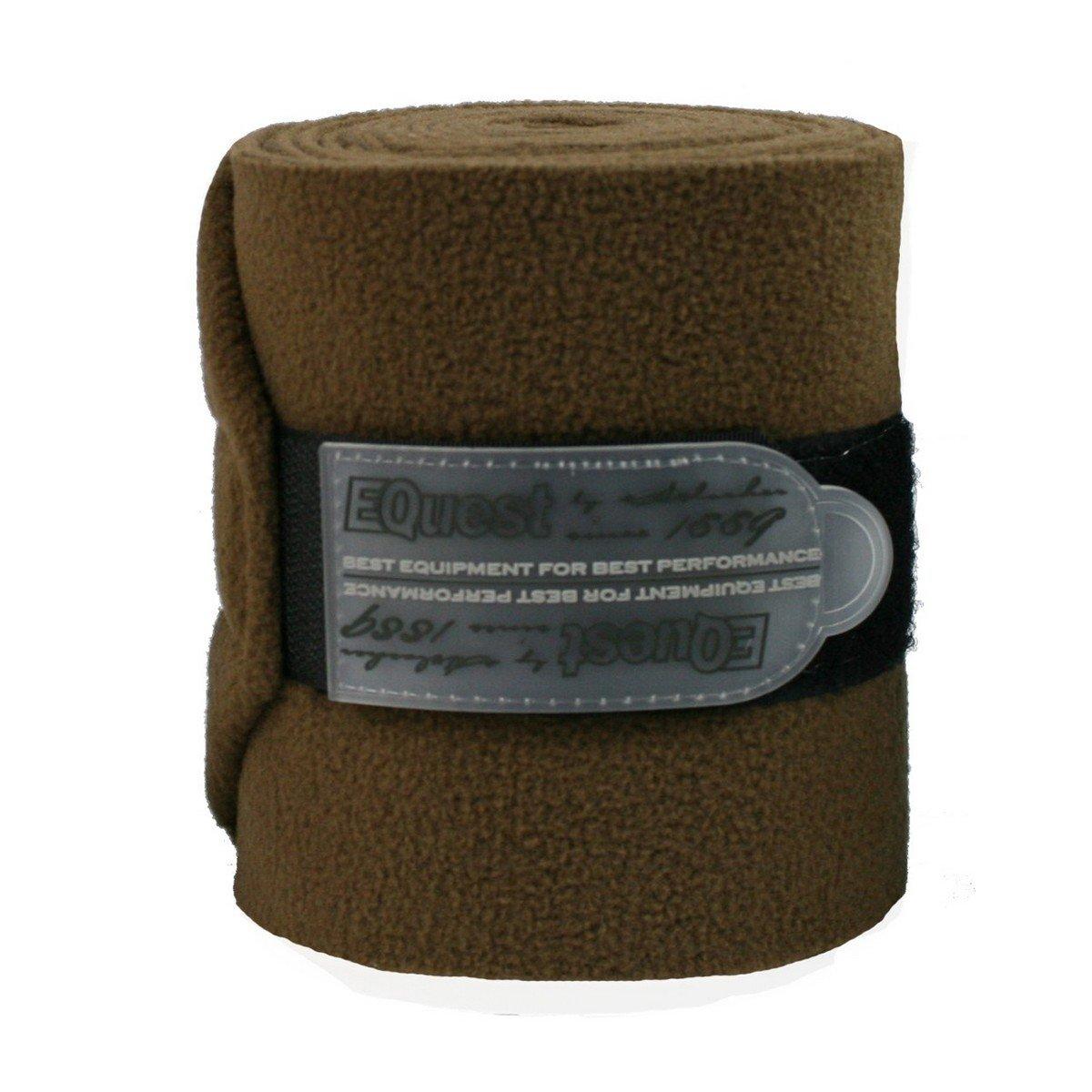 Afbeelding van EQuest Bandage Alpha Fleece 4st 12cm Kaneel 3m