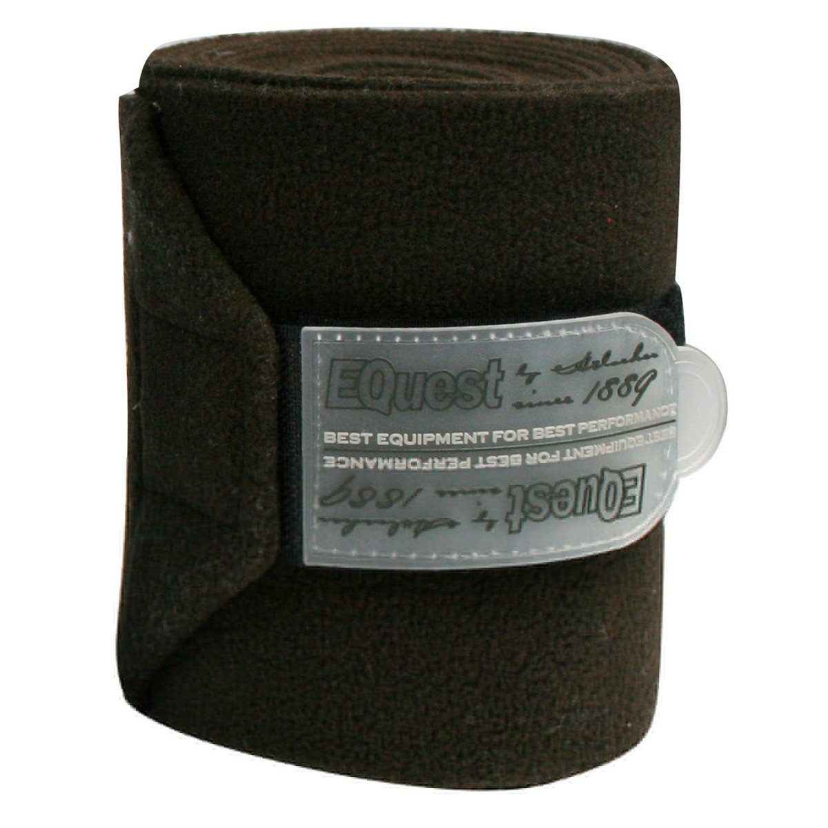 Afbeelding van EQuest Bandage Alpha Fleece 4st 12cm Mokka 3m