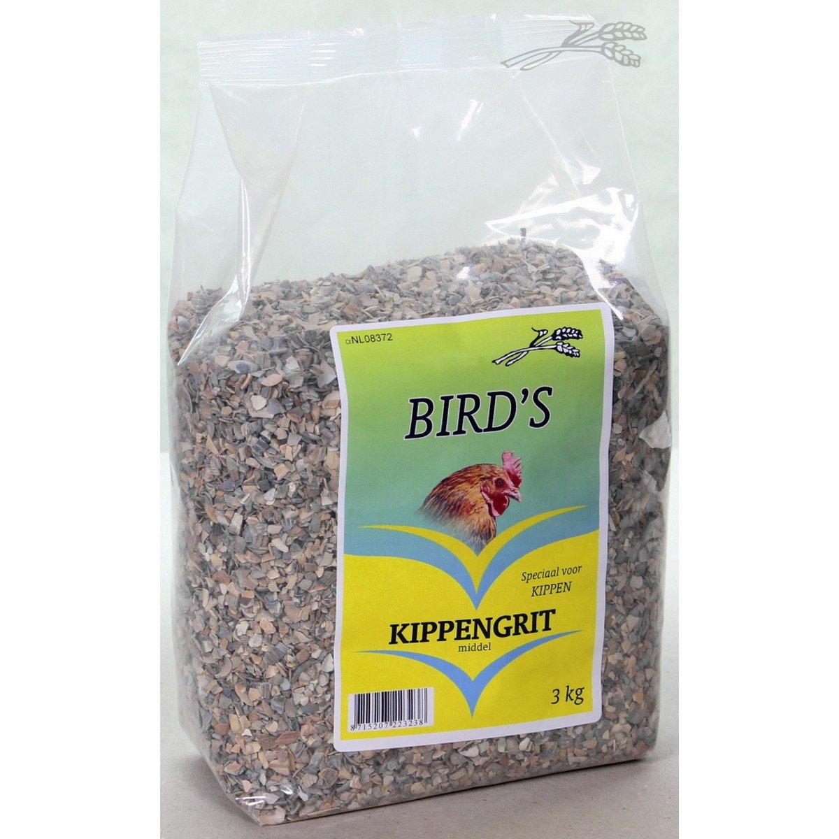 Afbeelding van Birds Kippengrit Middel 3kg