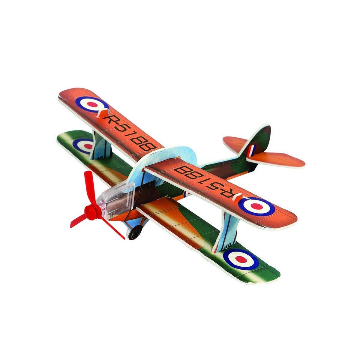 Abbildung von Agradi Flugzeug aus Tempex Mehrfarbig 24x7cm
