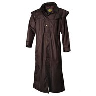 Scippis Coat Gladstone Lined, Waterproof and Windproof Brown