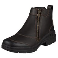 Ariat Barnyard Side Zip Dark Brown NIEUW