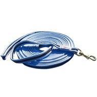 Harrys Horse Soft Longeerlijn 8m Navy/licht Blauw