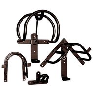Harrys Horse Harness Rack Black