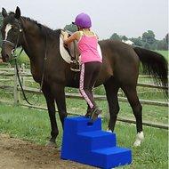 Horsemens Pride Opstap Hulp 3 Trede Blauw