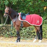 BR Nierdeken Event Fleece 380g 1-zijdig Maple Red