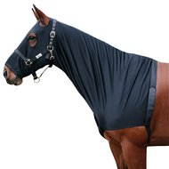 Harrys Horse Lycra Chest Protector with Hood Black