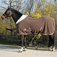Harrys Horse Teddyfleece Rug 1/2 Neck Brown