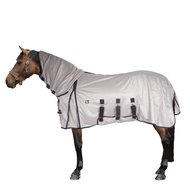 Pfiff Fly Rug with a Neck Piece Silver