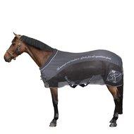 HV Polo Softshell Mesh Furioso Blanket Warm Charcoal