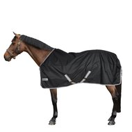 Bucas Anniversary Turnout Light Stay-Dry Black/Silver