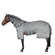 Amigo by Horseware Bug Buster Silver & Navy