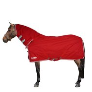 Red//Grey Shires Tempest Original Lite Combo Turnout Horse Rug