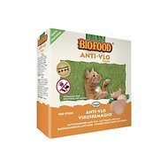 Biofood Kattensnoepsjes Zalm Anti-vlooien 100st
